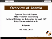 Overview of Joomla - thumb
