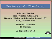 Features of JChemPaint - thumb