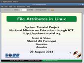 The Linux Environment - English   spoken-tutorial org