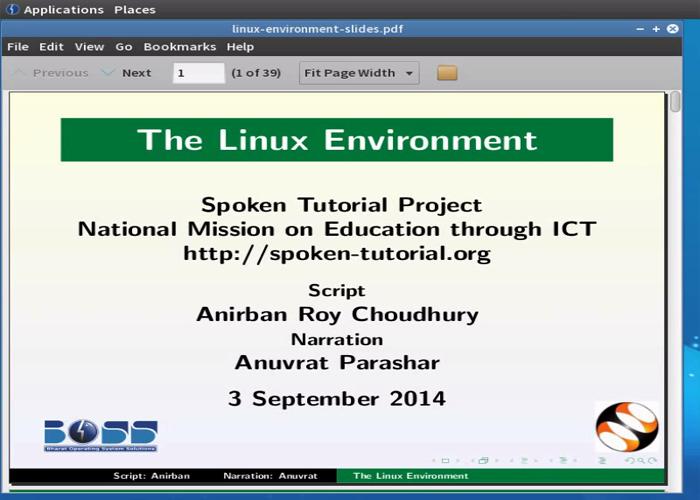 The Linux Environment - Malayalam   spoken-tutorial org