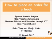 Place order for a book - thumb