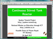Continuous Stirred Tank Reactor - thumb