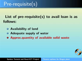 Finance options for Biogas plant - thumb