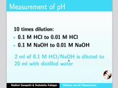 Dilutions and pH Measurement - thumb