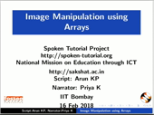 Image manipulation using Arrays - thumb
