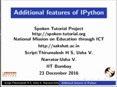 Additional features of IPython - thumb