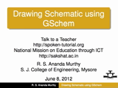 Drawing Schematic using GSchem - thumb