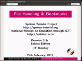 File Handling and Bookmarks - thumb