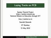 Laying Tracks on PCB - thumb